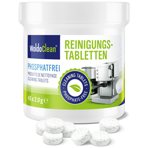 Gastronomie capsule machine tabs kopjes kopje ontkalking krups Siemens ontkalken reiniging tabletten