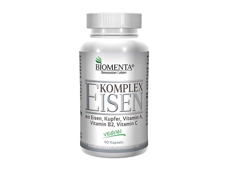 BIOMENTA EISEN KOMPLEX | mit Eisen, Kupfer, Vitamin A