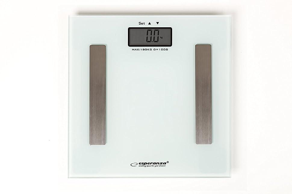 Körperfettwaage weiß zum Abnehmen wiegt Gewicht Körper-fett ...