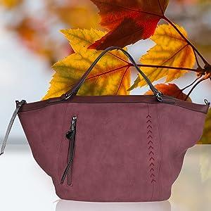 d4a0e47508422 bag lovers - Big One - Große Damentasche - bronze - stylische ...