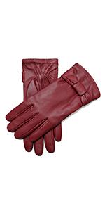 53a8d08dcfddd0 YISEVEN Soft Damen Lederhandschuhe für Winter Warm Lammfell Handschuhe 100%  …
