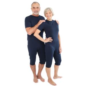 33c95bdc5c Pflegeoverall für Frauen und Männer; slim kurz mit Bein- und ...