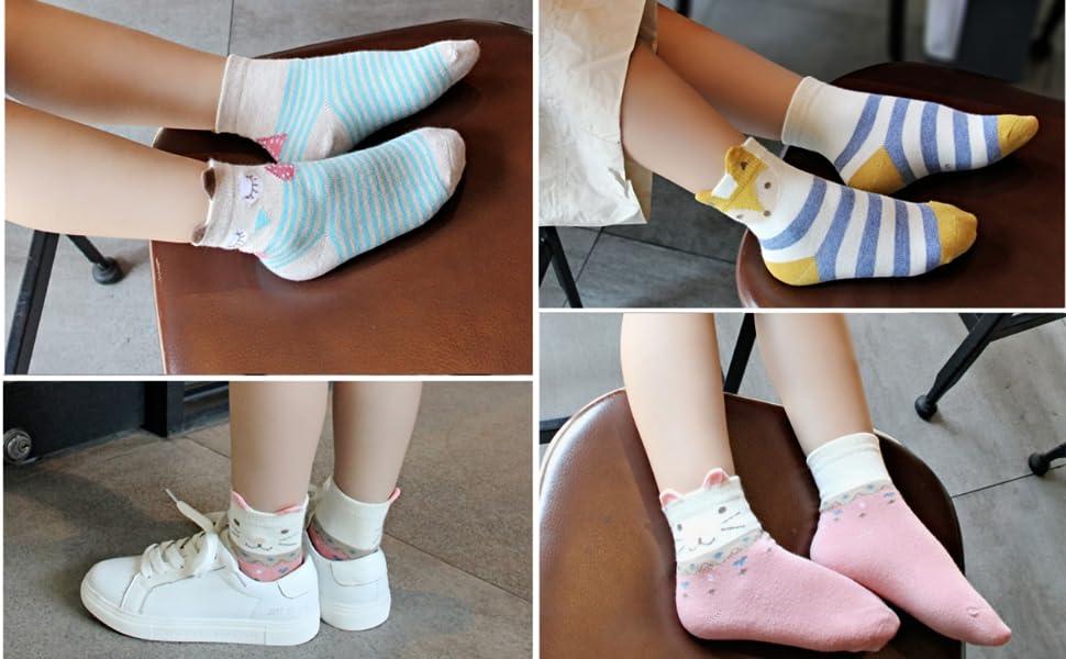 Kinder Socken aus Baumwolle