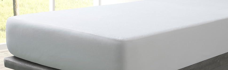 Molton-Spannlaken wassserdicht 70x140cm Weich Nässeschutz  PVC-frei hygienisch