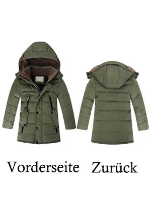 Chaqueta de invierno con capucha para niño