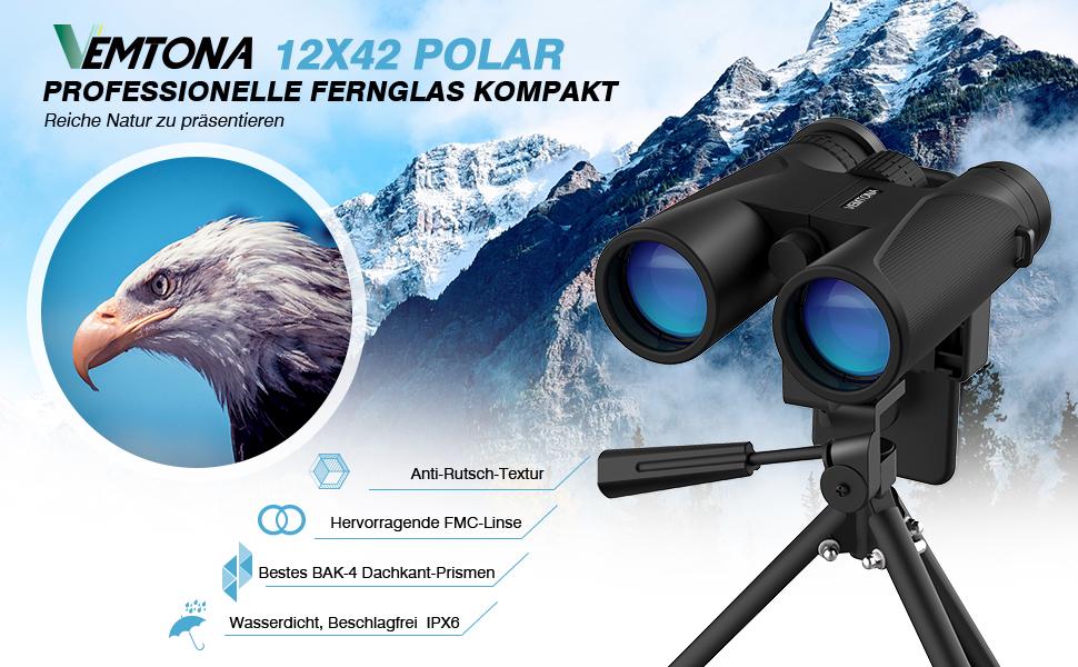 Fernglas vemtona polar professionelle fernglas amazon