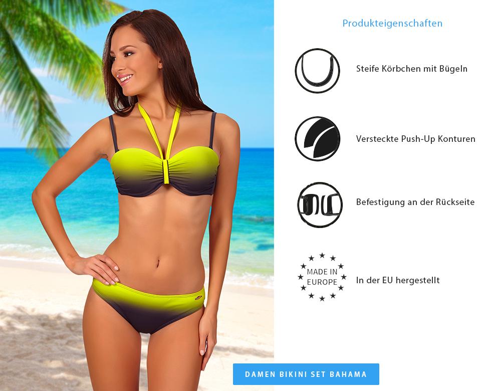 aQuarilla Damen Bikini Oberteil 71R71D4S