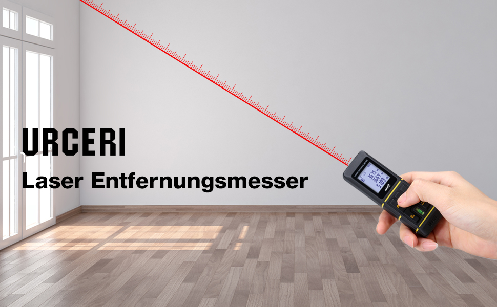 Urceri Laser Entfernungsmesser : Urceri laser entfernungsmesser 60m mini: amazon.de: kamera