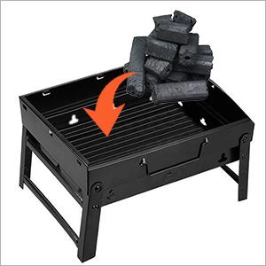 Träkol grill