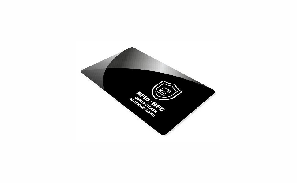 RFID blocker karte card blocking bankarte
