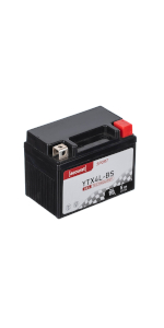 Accurat Motorradbatterie YTX4L-BS 5Ah 55A 12V Gel Technologie Starterbatterie in Erstausr/üsterqualit/ät zyklenfest sicher lagerf/ähig wartungsfrei