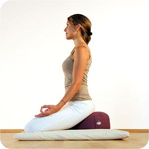 Meditationskissen für bequemes Sitzen