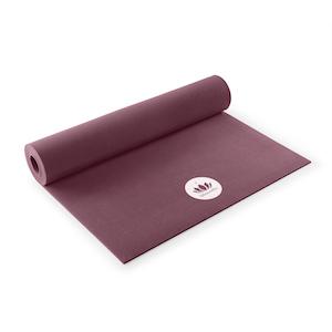 Die Neueste Mode 5mm Dicke - Schadstoffgeprüf aubergine Lotuscrafts Yogamatte Mudra Studio Xl