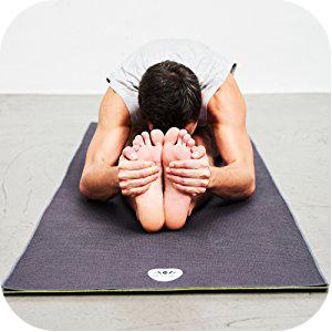 yogatuch auf yogamatte