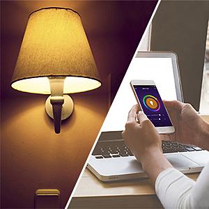 A19 90W Gleichwertige RGB Farbwechselbirne SLITINTO E27 Intelligente Multicolor Birne Kompatibel mit Alexa Smart WiFi LED Gl/ühbirne Dimmbar 9W 1000Lm Google Home und IFTTT 2 Pack Echo