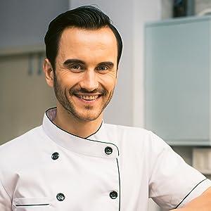 Schürze Kochschürze Grillschürze apron Latzschürze Küchenschürze schwarz für Männer lustig
