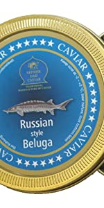 Beluga Kaviar Original 125g: Amazon.de: Lebensmittel