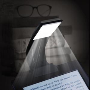 Libro luz LED lampara de lectura recargable,LUXJET® Clip
