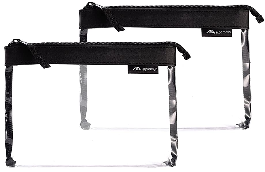 alpamayo 2er set transparenter kulturbeutel kulturtasche. Black Bedroom Furniture Sets. Home Design Ideas