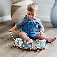Kindsgut Holzeisenbahn
