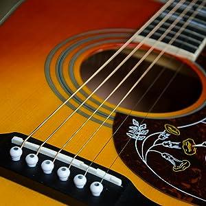 Drückt frühe Martin Gitarren aus