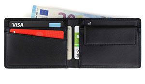 7caf43b854a46 JASPER – Das kleine Portemonnaie für Herren aus Echtleder