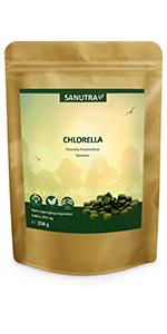 Sanutra Chlorella Algen