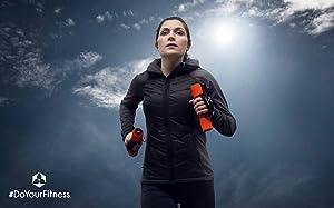Pulsera deportiva »Runner-Men« / Pulsera para running y carrera / brazalete deportivo / circunferencia del brazo 60 cm / está disponible en 3 tamaños ...