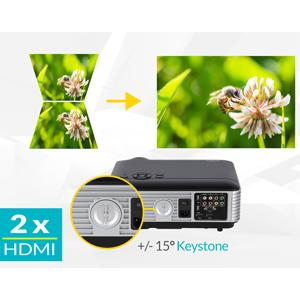 Mini Beamer, Full HD Beamer, Beamer, LED Beamer, Beamer HDMI, Beamer mit USB, mit , beamer full hd