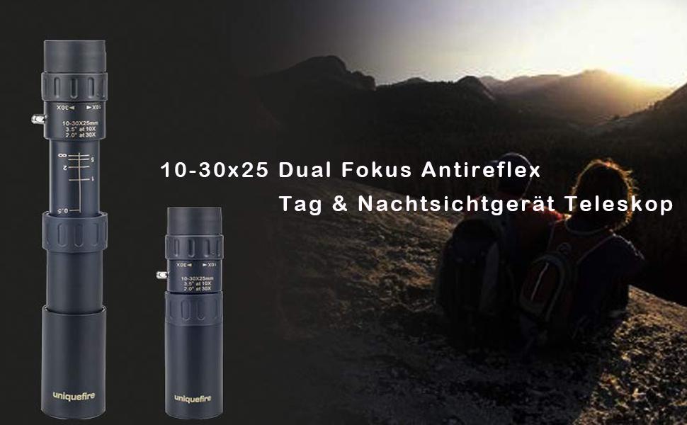 10 30x25 dual fokus antireflex grün mehr beschichtete hd militär