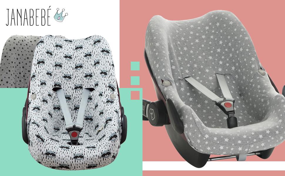 Janabebe baumwollbezug pebble maxi cosi y bébé confort