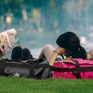 rucksack wasserfest reisetasche damen groß weekend bag gym