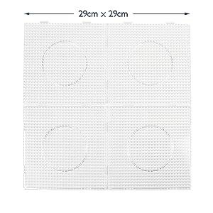 Zum Stecken Bügelbilder 1 Quadratische Bügelperlenplatte Von Hama Spielzeug