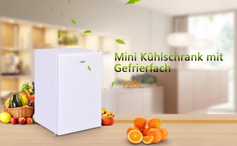 Mini Kühlschrank Mit Gefrierfach Für Pizza : Costway kühlschrank mit gefrierfach minikühlschrank