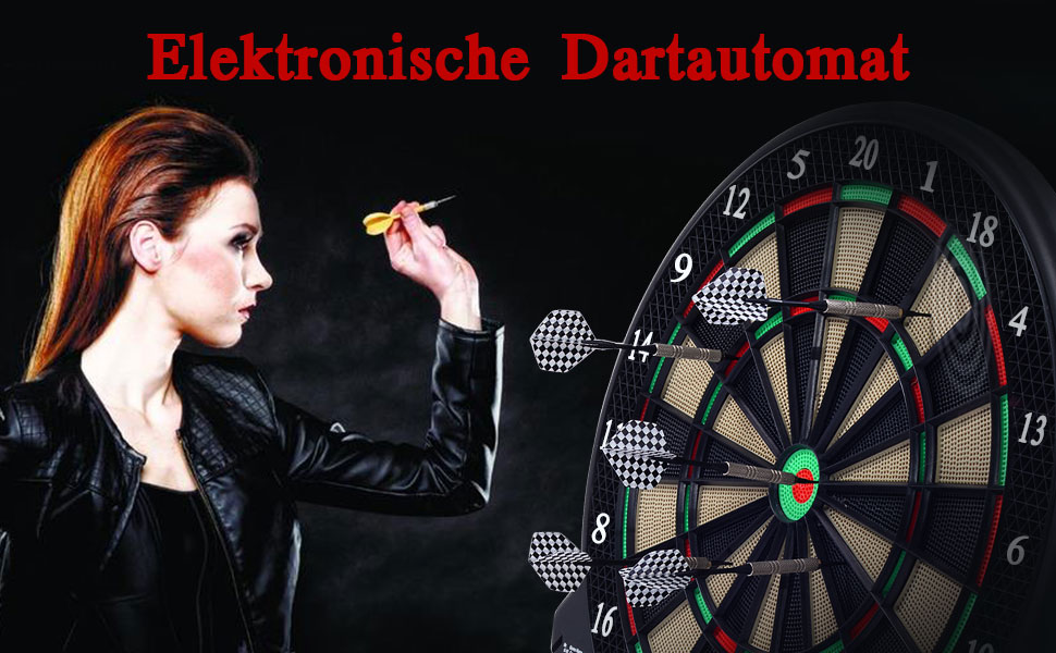 Dart Turnier Set Dartscheibe Dartpfeile Surround Dartboard NEU Heiß new Q9N9