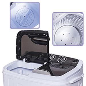 mini single 3 6kg waschmaschine 2kg schleuder toplader waschautomat a b ware ebay. Black Bedroom Furniture Sets. Home Design Ideas