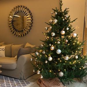 Vivanno K/ünstlicher Weihnachtsbaum Tannenbaum Premium Fichte 240 cm