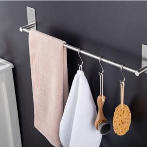 Aluminium Handtuchstange mit Patentierter Kleber 40cm Matte Finish Handtuchhalter ohne Bohren Handtuchhalter Selbstklebend zum Bad und K/üche