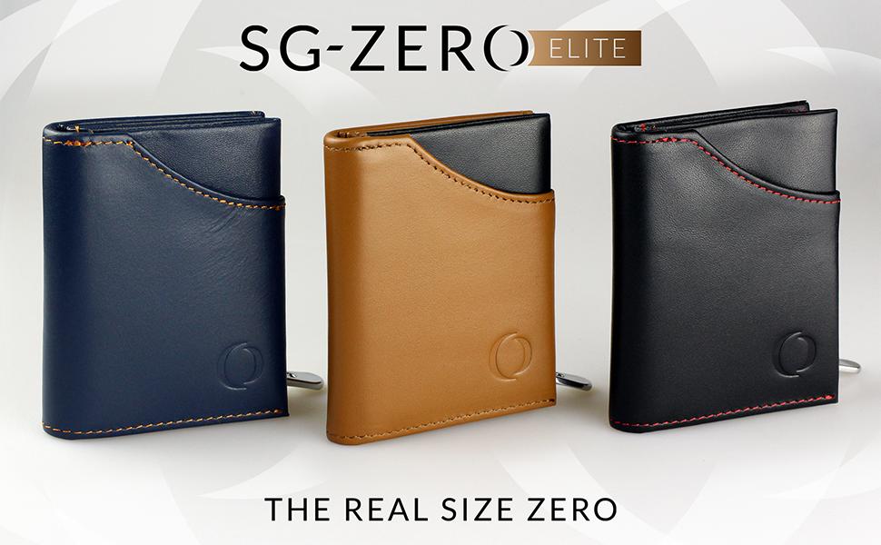 b1fb09d154fad SG Zero Leder-Geldbeutel Herren mit Münzfach blau – ideales Geschenk ...