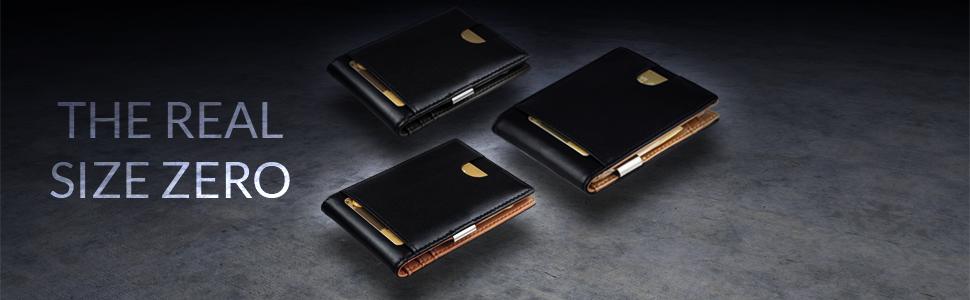 ac4a531aaea11 Geldbörse Herren mit Geldklammer und RFID Schutz- Portemonnaie ...