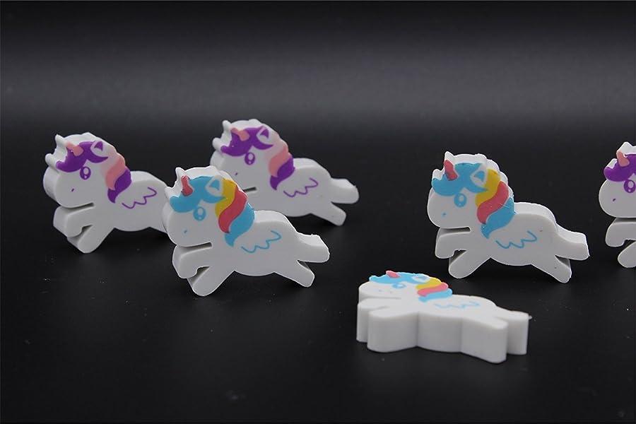 Radierer Regenbodenfarben Einhorn Unicorn Regenbogen Radiergummi