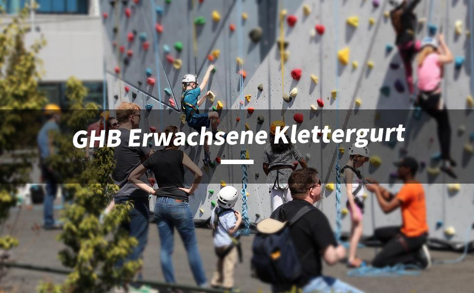 Klettergurt Baumklettern : Ghb klettergurt kletterset sicherheitsgurt für bergsteigen