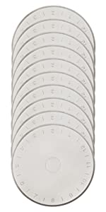 45 45mm ersatzklinge ersatzklingen klinge rollenschneider rollschneider rundklingen stoffschneider