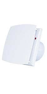 Keller 100mm-G Hon/&Guan 100mm Decken und Wand Ventilator BadL/üfter 80m/³//h Badezimmerl/üfter Abluftventilator f/ür Bad Garage