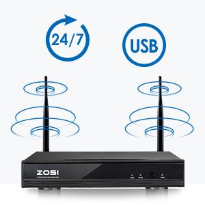 Wireless NVR