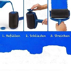 Paint Runner Renovator Pro Kantenroller Eckenstreicher Farbroller