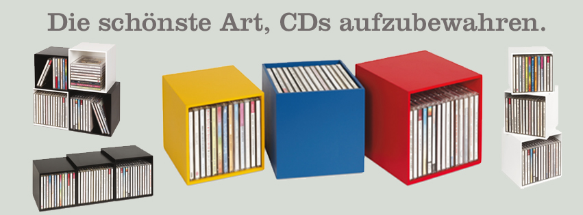 neu cd box cubix color cd boxen aus holz 3 cd boxen in einem f r bis zu 40 musik cds. Black Bedroom Furniture Sets. Home Design Ideas