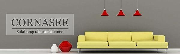 Sofabezug ohne armlehnen
