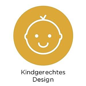 Kindgerechtes Design