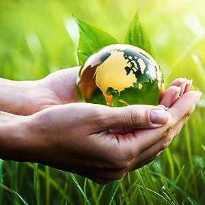 Unser Planet in den Händen